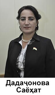 Дадаҷонова Саёҳат